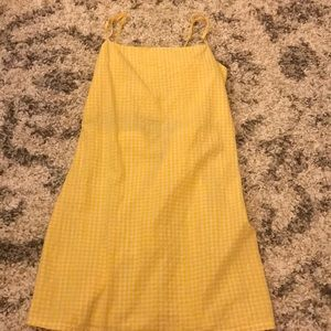 Dresses & Skirts - Yellow Plaid Dress